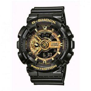 Casio Digital Quartz Men's Watch with Resin Strap GA-110GB-1AER