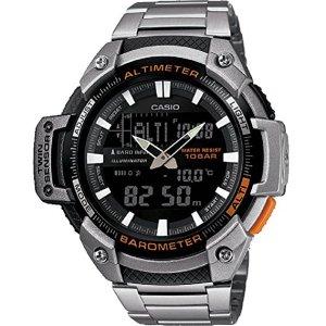 Casio reloj analógico-digital hombre con correa de acero inoxidable SGW-450HD-1BER