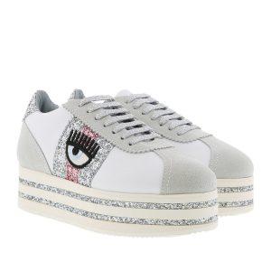 Chiara Ferragni Sneakers HS White/Fuxia CF2100-A Nuova Collezione A/I 2018-19