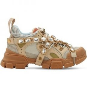"GUCCI shoes  women- ""FLASHTREK"" BEIGE"