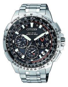Citizen orologio da polso uomo PROMASTER Sky Satellite Wave Cronografo al quarzo Titanio cc9020 – 54E