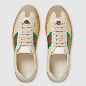 "GUCCI SNEAKERS ""G74"" IN PELLE"