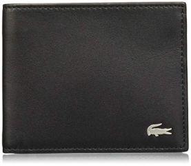 Lacoste mens portafoglio nh1115fg, portafogli per uomo