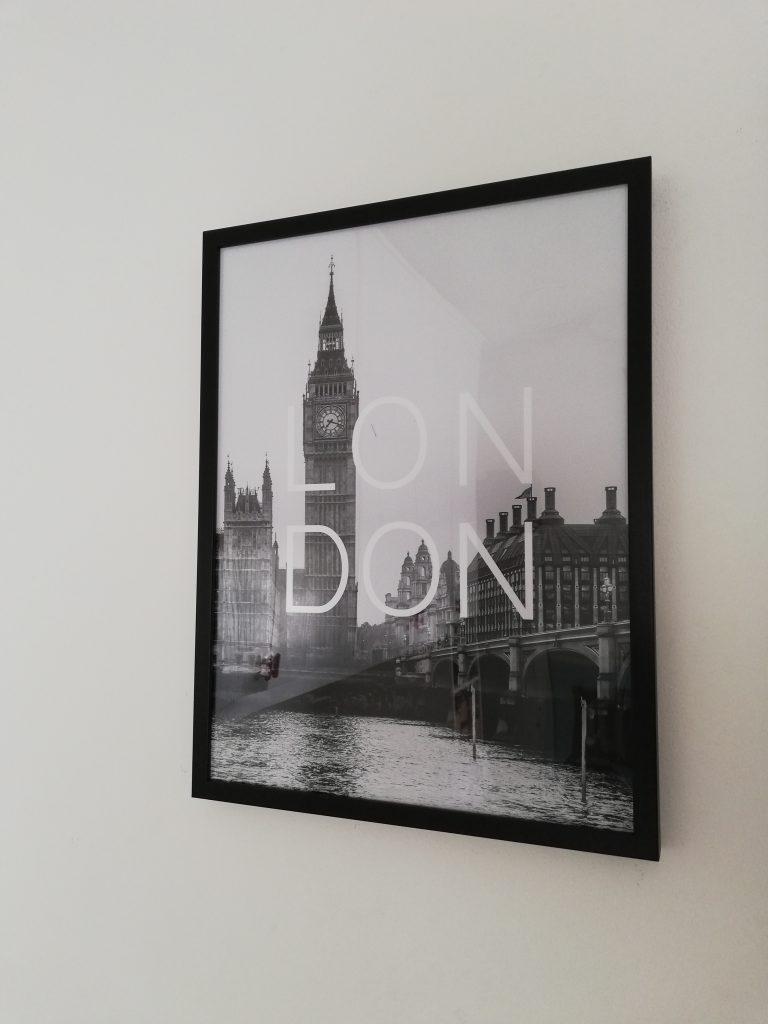 poster londra, desenio