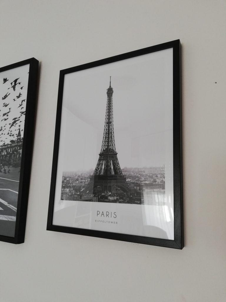 Eiffel tower, desenio