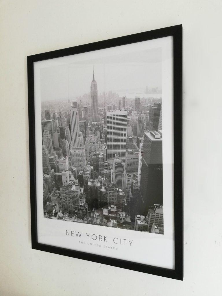 New york city, desenio, poster