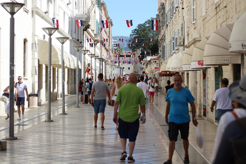 centro storico spalato, split, croazia