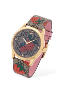 "OROLOGIO GUCCI ""SUPREME STRAWBERRY"""