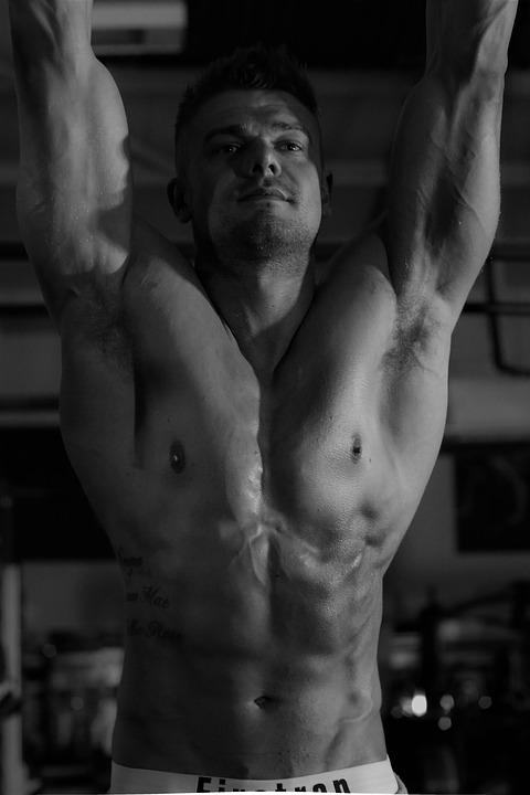 fitness model uomo