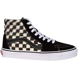 Vans UA Sk8-hi (Blur Check) Bl, 13, Medium, Sneaker Unisex – Adulto