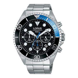 LORUS Orologio Cronografo Quarzo Uomo con Cinturino in Acciaio Inox RT315GX9