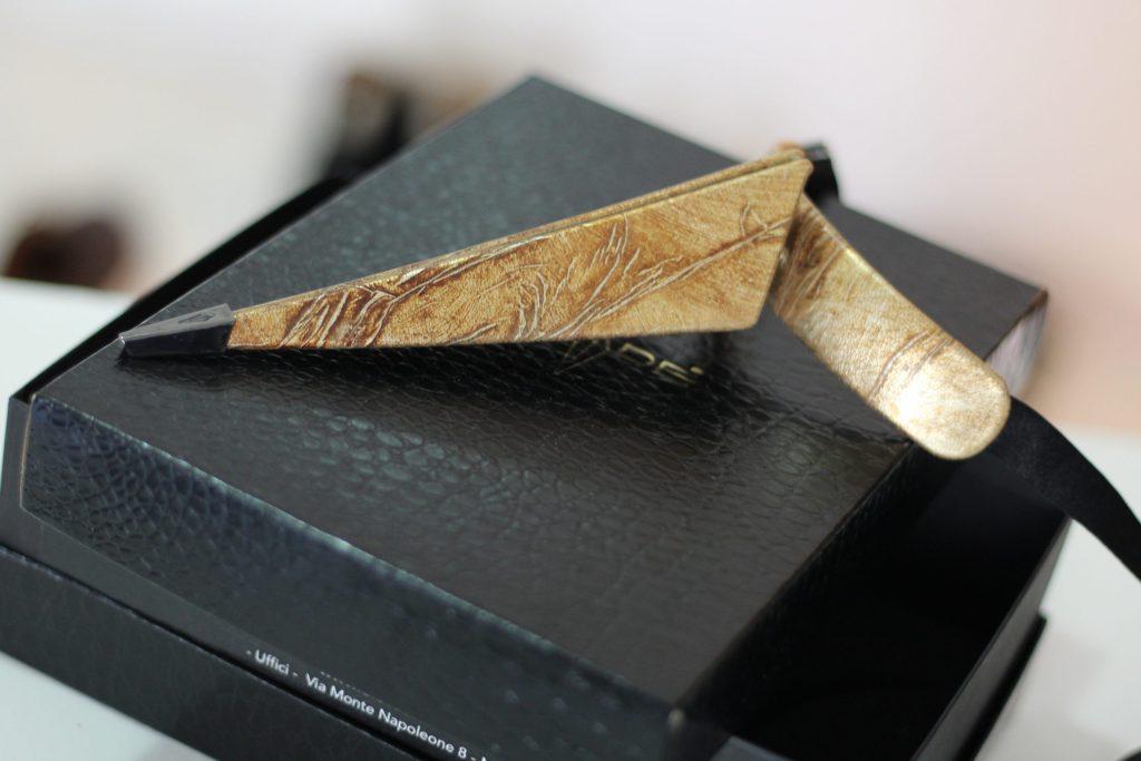 blade, cravatta innovativa, cravatta in pelle