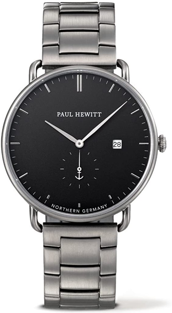 PAUL HEWITT Orologio uomo acciaio Grand Atlantic Line Black Sea