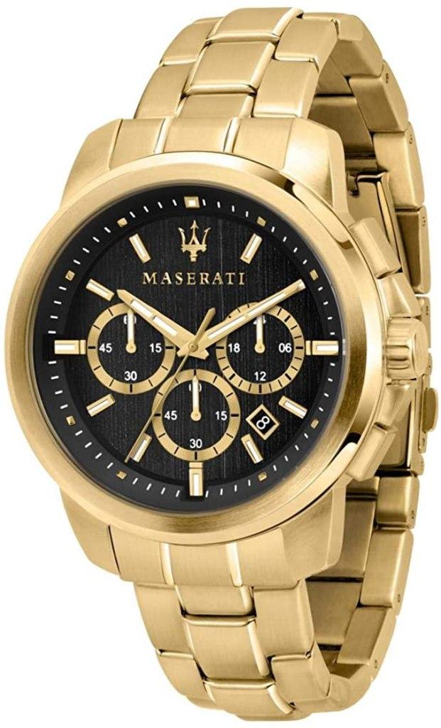 Orologio da uomo, Collezione Successo, cronografo, in acciaio e PVD oro giallo - R8873621013