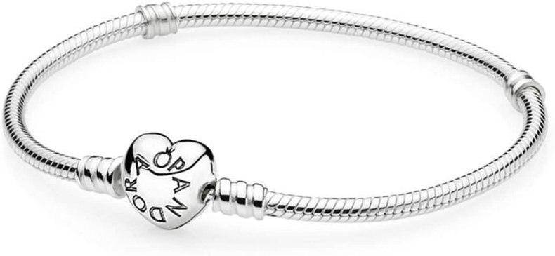 Pandora 590719, con chiusura in argento Sterling a forma di cuore