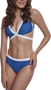 Urban Classics Ladies Contrast Bikini Set Donna