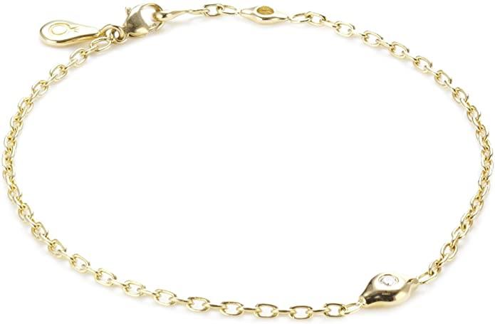 Pandora 570108D-16 - Bracciale da donna, oro bianco 18k (750)