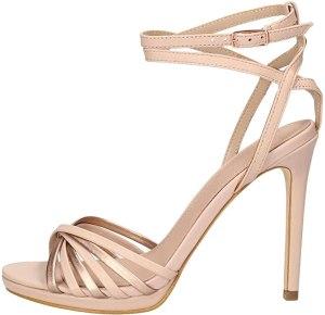 Guess Tonya2/Sandalo (Sandal)/Leathe, Scarpe con Cinturino alla Caviglia Donna