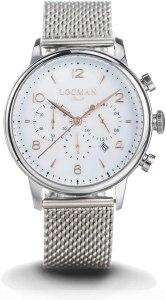 orologio cronografo uomo Locman 1960 trendy cod. 0254A08R-00WHRG2B0