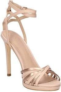 Guess Tonya2, Sandalo con Cinturino alla Caviglia Donna, sandali con tacco