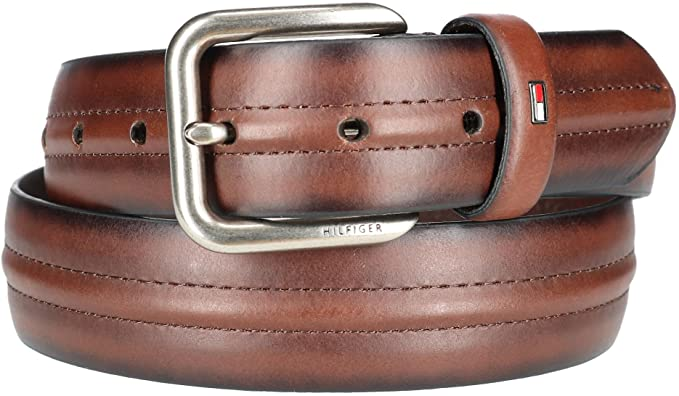 Tommy Hilfiger Cintura casual per uomo con cintura centrale