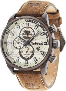 Timberland Orologio Cronografo Quarzo Uomo con Cinturino in Pelle TBL14816JLBN.07