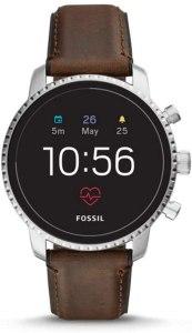 Fossil Q Explorist HR smartwatch Argento GPS (satellitare)