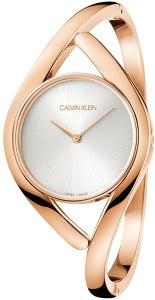 Calvin Klein Orologio Analogico Quarzo Donna con Cinturino in Acciaio Inox K8U2M616