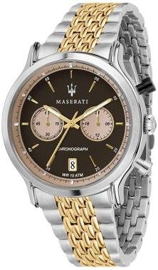 Orologio da uomo, Collezione Legend, cronografo, in acciaio e PVD oro giallo - R8873638003