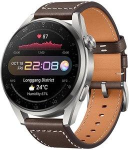 Huawei Watch 3 Pro Classic - Smartwatch Brown