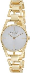 Calvin Klein Orologio Analogico Quarzo da Donna con Cinturino in Acciaio Inox K7L23546