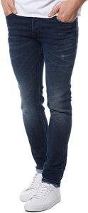 Diesel Jeans da uomo Skinny Sleenker 084JM blu scuro