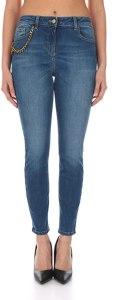 Elisabetta Franchi PJ04S11E2 Jeans Skinny Donna