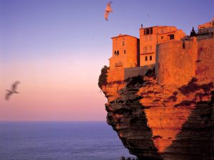 corsicaFortress at Bonifacio Corsica