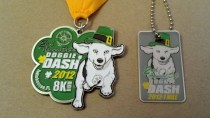 Medal and Dog Tag