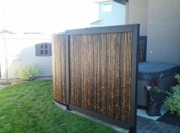 bamboo garden privacy screen Outdoor Bamboo Privacy Screen | Interesting Ideas for Home