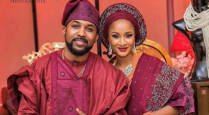 lemme introduce my bride – Banky W. (See photos)
