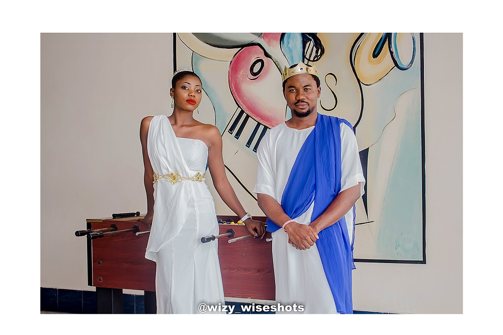Every empire needs a KING, every KING needs a QUEEN – See dazzling pre-wedding photos of Oluwatoyin and Tamunokuro