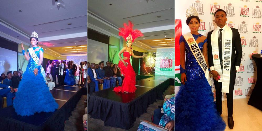 Ex-beauty queen Nneze Richards emerges Face of the World Nigeria, 2017 (photos,video)