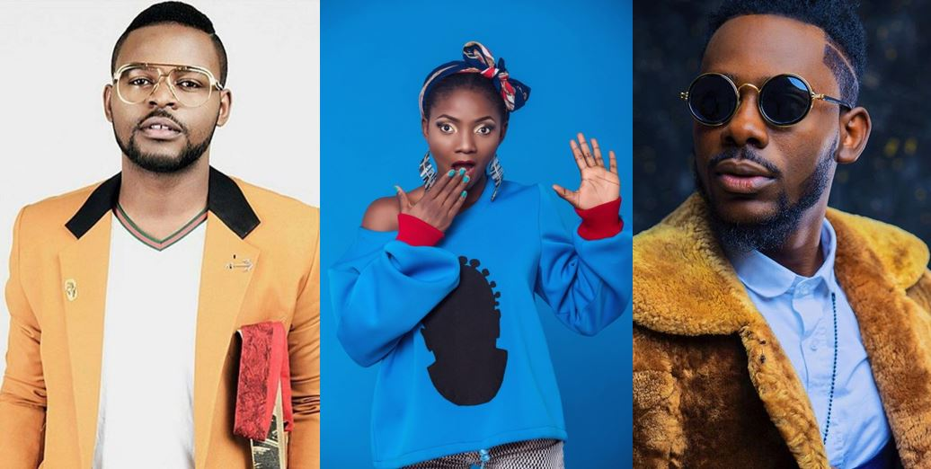 How I met Adekunle Gold and Falz, – Simi says as she discloses she is in a relationship