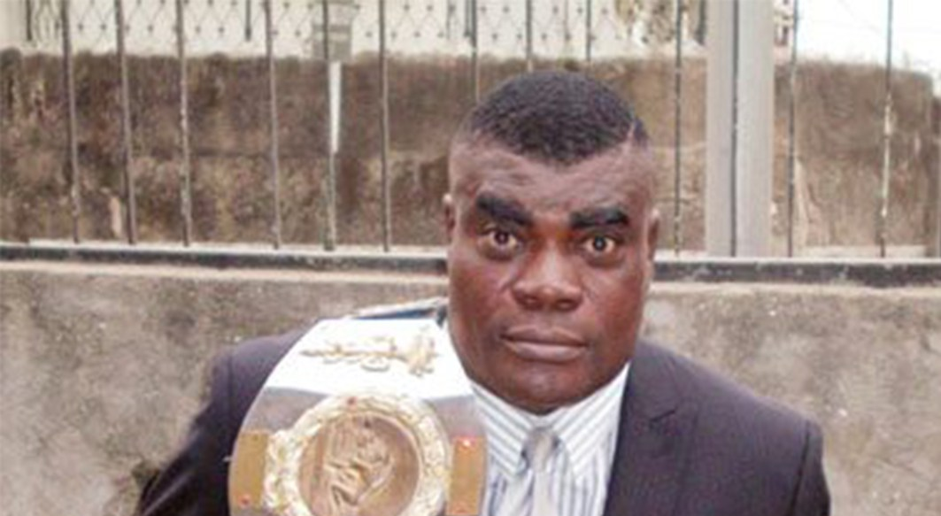 Renowned Nigerian wrestler, John Eke Uti, a.k.a. Power Uti, arraigned in court for allegedly beating his wife to death (Details)