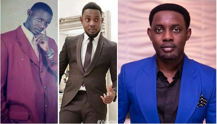 Comedian AY shares a throwback photo (His caption got me rolling on the floor)