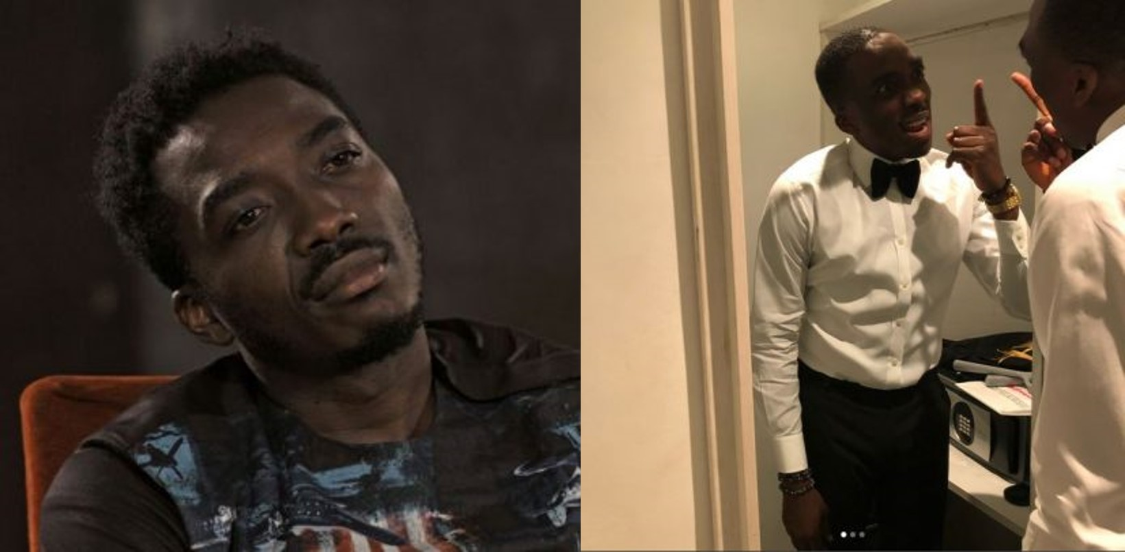 10 awkward/funny pictures of Bovi Ugboma