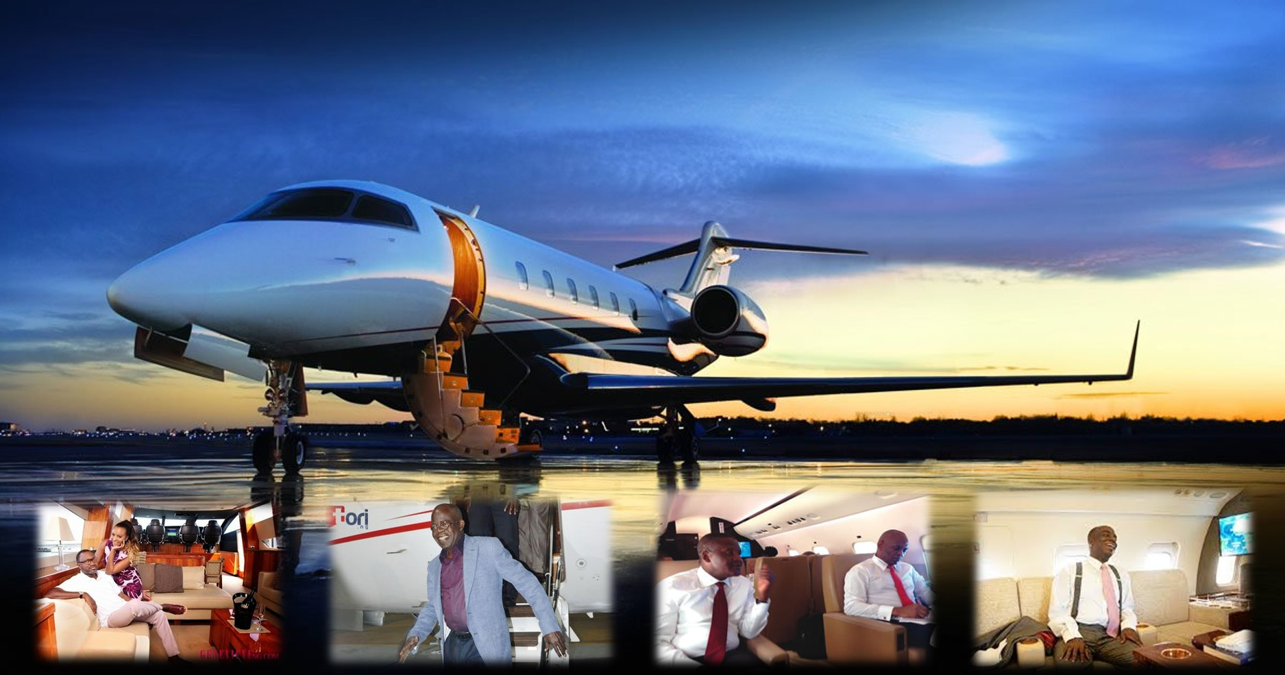 17 Nigerians who own private jets, their worth and photos