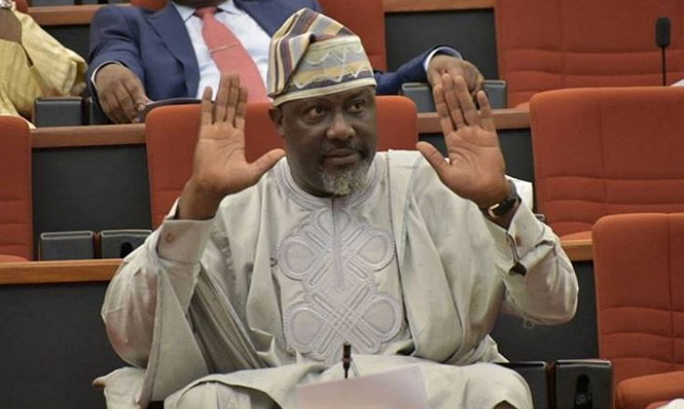 Image result for Dino Melaye celebrating