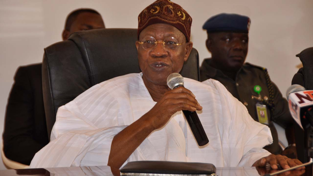 'A National campaign against fake news has been launched in Nigeria' – Lai Mohammed