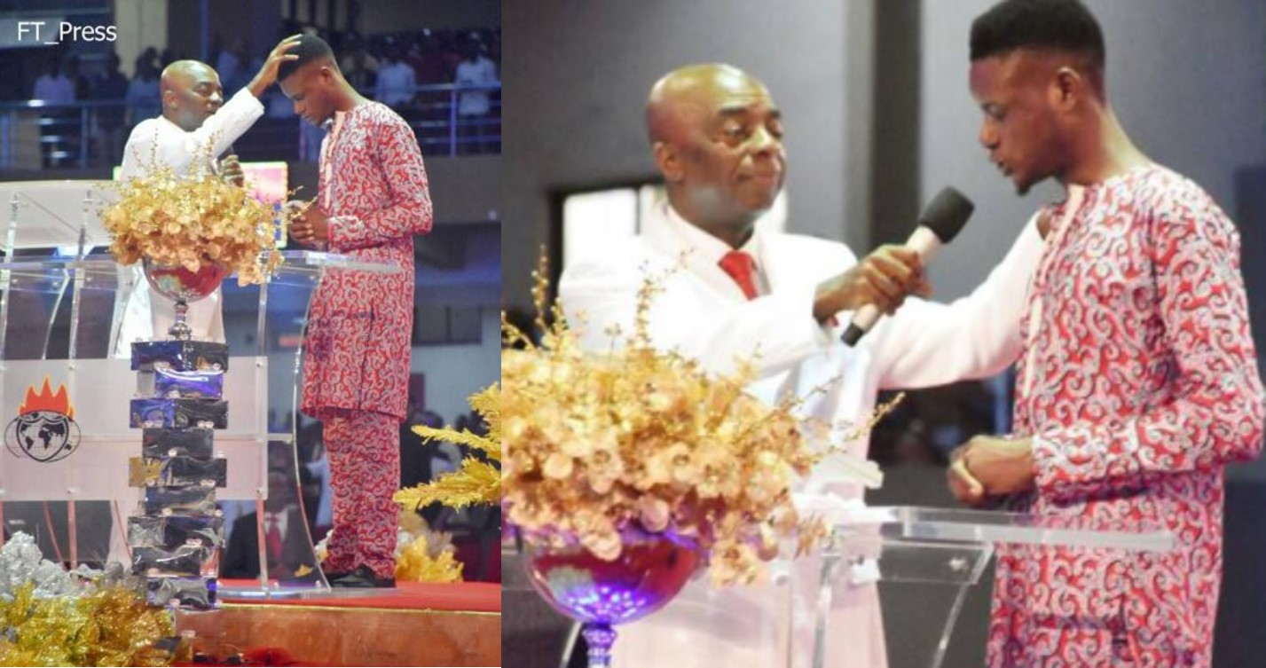 Image result for Nigerian Man Pronounced Dead By 4 Hospitals, Resurrected By Pastor Oyedepo's Prophetic Mantle (Photos)