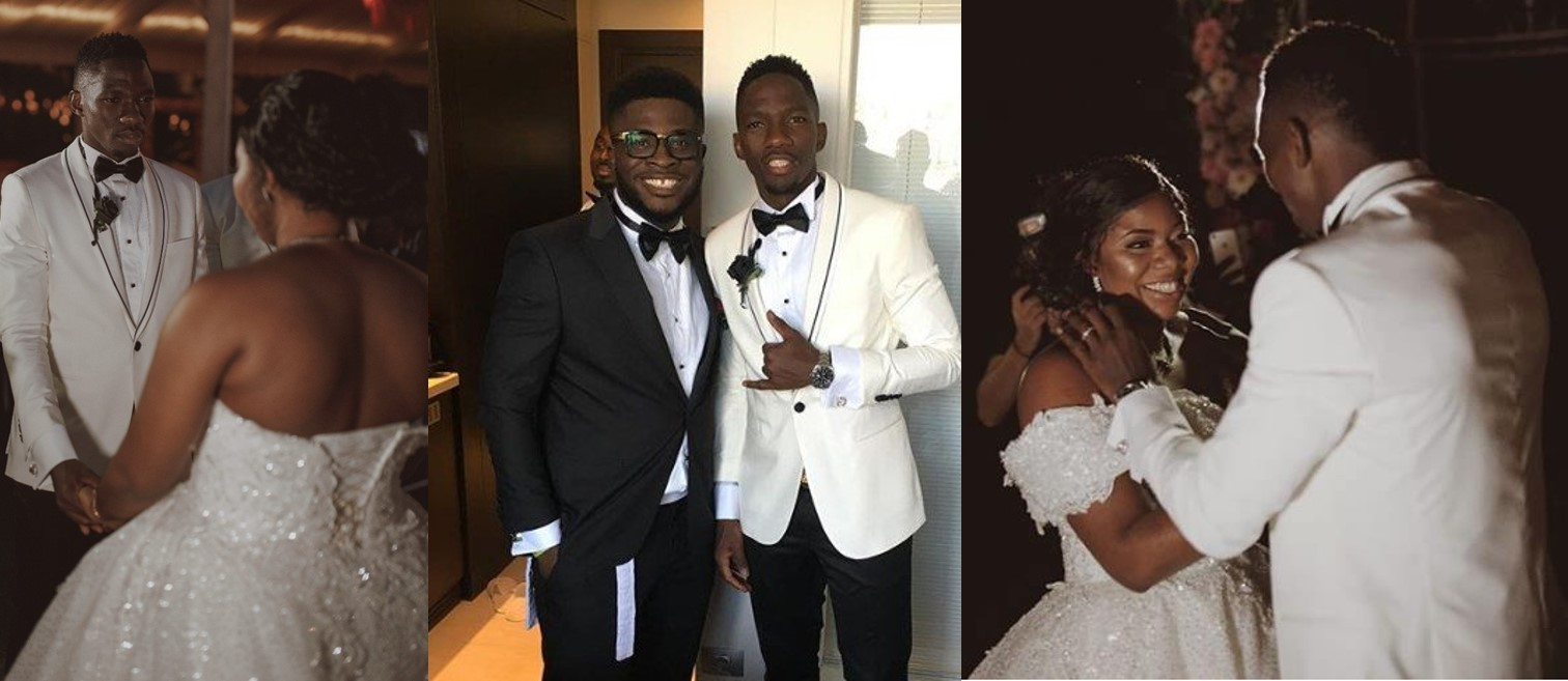 Adorable photos from the white wedding of Super Eagles defender, Kenneth Omeruo, in Istanbul