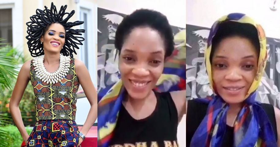 Chika Lann finally Looses her N40million hair following Nigeria's loss to Croatia (Video)