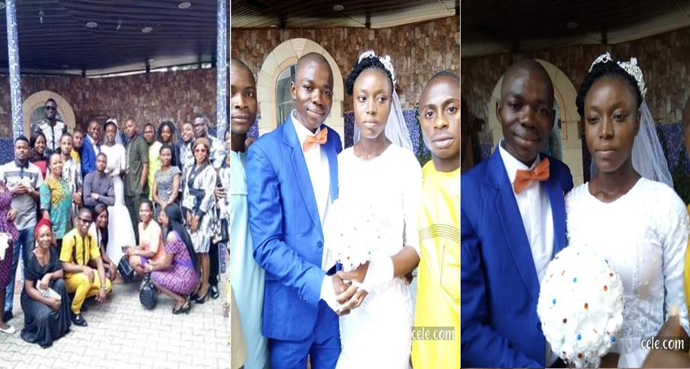 Nigerian Lady Weds Without Wearing Makeup (Photos)